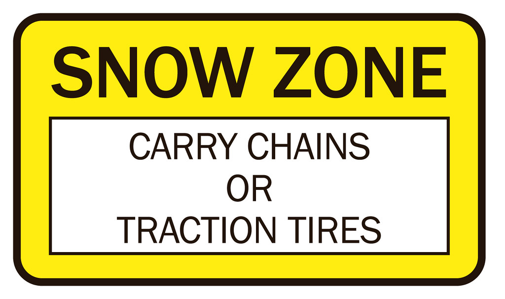 carry chains or tires