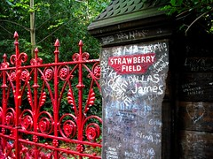 Strawberry Field(s) Forever (Flamenco Sun) Tags: liverpool beatles lennon ringo mersey albertdock thebeatles magicalmysterytour macca beatlemania rivermersey thecavern strawberyfields johnpaulgeorgeringo