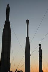 Rockets Sunset