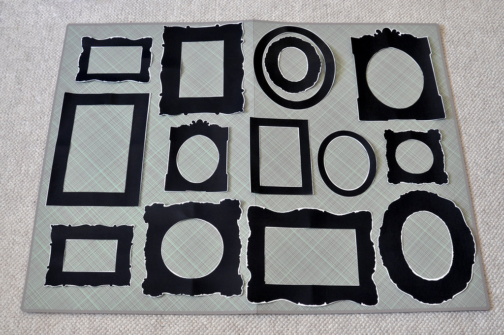 ldc designs: Contact Paper DIY : Picture Frames : Sara from Arvonia
