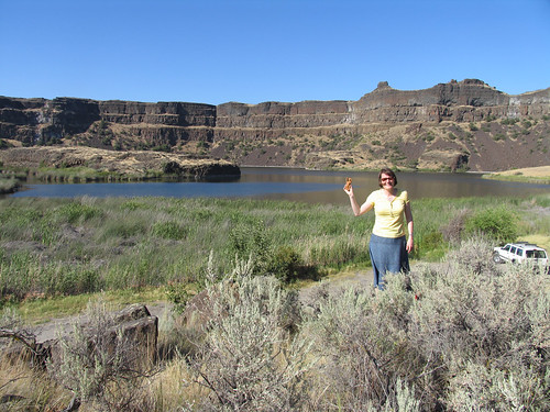 Liz & BB at the Grand Coulee WA