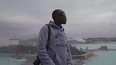 Michael At The Blue Lagoon (A.Currell) Tags: blue michael iceland saw lagoon reykjavik what reykjavk the in i at