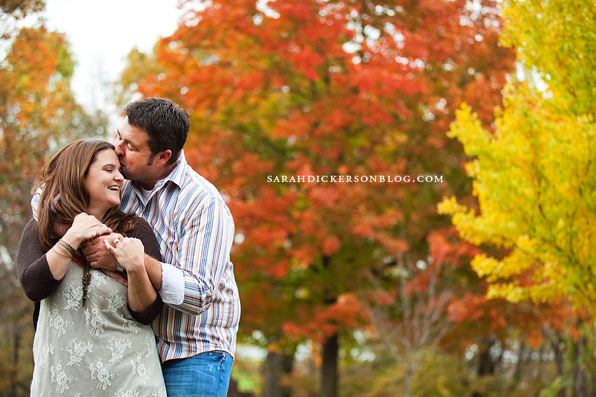 Atchison, Kansas engagement session
