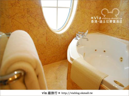 【香港住宿】跟著via玩香港(4)~迪士尼樂園酒店(外觀、房間篇)41