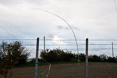 Windy days in San Marino for fiberglass antenna! by iz4aks