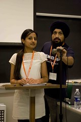 Navdeep Singh Dhillon and Sona Charaipotra attend Jakara 2009: 1984. Reflect. Respond. React.