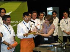 Entrega a Andreu Ruiz del VIII Premio Internacional de Cocina con Aceite de Oliva