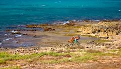 relax (kikkedikikka) Tags: sea italy sun rock san italia mare flag lo solo sicily capo sicilia trapani vito bandiera macari scoglio superphotographer rgspaesaggio rgscastelli rgsnatura rgsscorci ilikethenature