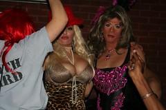 Spin IMG_4169 (Ragina Cline) Tags: chicago sexy halloween stockings girl club night drag boobs spin tgirl thigh crossdresser crossdress 2010 highs