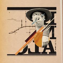 Being Alone (luklima) Tags: old brazil collage brasil vintage graphicdesign sweden hyperisland type sverige lucaslima luklima illustratedthought