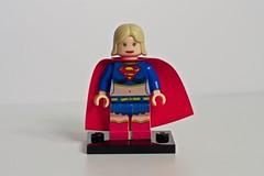 Supergirl (levork) Tags: dc lego superhero supergirl minifig cfc2010 creationsforcharity2010