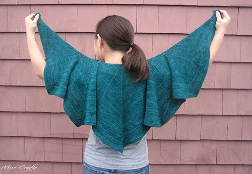 Peacock Pogona Shawl - Full