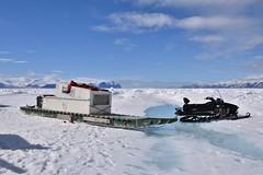 DSC_0166 (JillScoby) Tags: qamutik arctic baffinisland pondinlet floeedge eagleeyetours snowmobile nunavut inuit