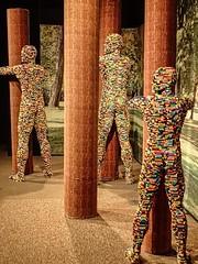 Embrace Creativity by Lego artist Nathan Sawaya (mharrsch) Tags: embracecreativity treehugger hug lego sculpture art nathansawaya artofthebrick exhibit omsi oregonmuseumscienceandindustry oregon mharrsch