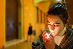 Eliza (Premshree Pillai) Tags: bologna italy bolognamar17 europe europa italia eliza people smoking medulla winebar candid joint