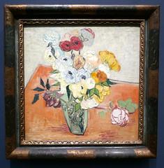 Vincent Van Gogh : Roses er anémones, 1890. (neppanen) Tags: sampen discounterintelligence paris pariisi ranska france museo museum musee art taide kuvataide painting maalaus maalaustaide muséed'orsay d'orsay orsay d´orsay ruusu rose vincent vangogh vincentvangogh