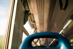 Commute (Michael Cottage) Tags: nikonphotography photography d3300 nikond3300 nikon manchester liverpool weekday weekends weekend tgif friyay friday ceiling gloss shine sunshine sun love life everydaylife everyday england travel carriage shadow light train commute