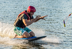 Omnia Cable Ski-0143 (~.Rick.~) Tags: cableski carbrook friends kneeboard omniagroup qld queensland seq team excitement fun ski water australia au