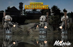 Playerunknown's Battlegrounds (McLovin1309) Tags: battlegrounds playerunknown playerunknowns pubg battle royale steam pc computer game gaming gamer videogame videogaming lego figure custom minifigure sidan si dan