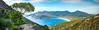 Wineglass Bay (VernsPics) Tags: wineglassbay tasmaina beach top10 panorama pano nature noswimmingformethistime frecinet