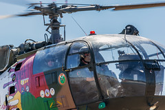 Sud Aviation Alouette III (JA_Guerrero) Tags: sud aviation alouette iii nikon d7100 sigma 150600 castelo branco forca aerea portuguesa máscara piloto calavera