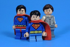 The Kent Family (MrKjito) Tags: lego minifig dc comics super man clark kent lois john rebirth new 52 pre flashpoint family hamilton county custom