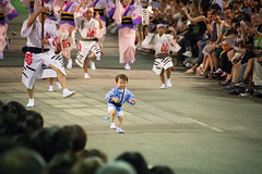 TOKUSHIMA DAYS - The Awa Dance Festival (junog007) Tags: awa awaodori awaodorifestival tokushima shikoku summer d5 28300mm people crowd child night dance street explore