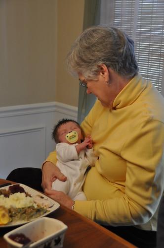 Bentley with Grandma