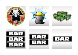 free Milk the Cash Cow slot game symbols