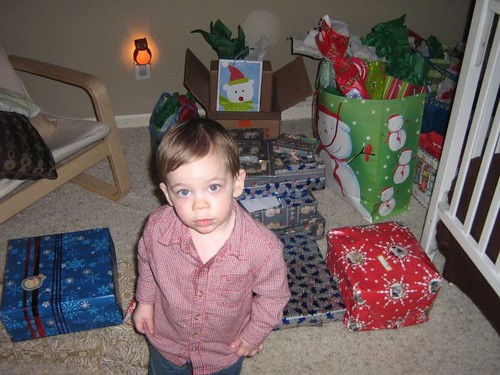 landon with presents by you.