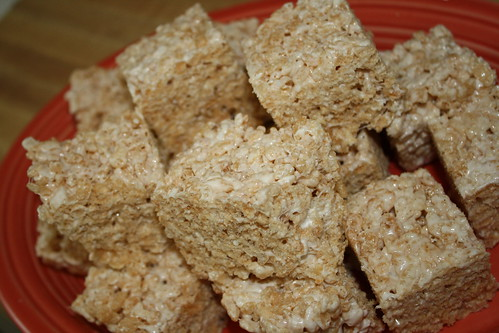 Salted Krispie Treats