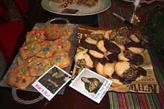 Charlie's M&M Mint Cookies, Torie's Potato Chip Cookies