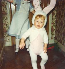 When i was a rabbit... (Ochaviere) Tags: rabbit me youth child sister alice young moi jeunesse carrot wonderland patricia enfant lapin soeur carotte jeune