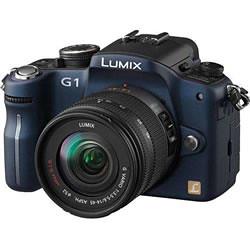 Câmera Digital Panasonic DMC-G1 Azul 13.1 MegaPixel