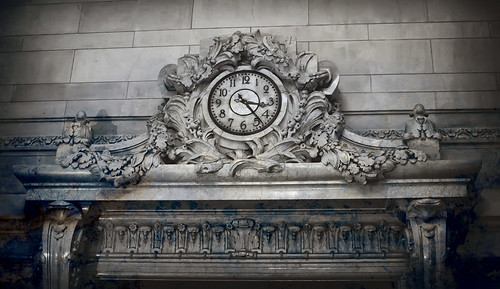 The Clock in Central Station New York