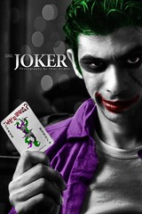 The Joker (Talal Al-Mtn) Tags: red man black green dark movie serious bat uno batman joke