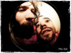 Raul & Pau (coconute2008) Tags: lens funny creative fisheye retouch retoque ojodepez fractalius