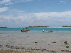 Boats hauled out of the water (Dennisworld) Tags: vacation boats frenchpolynesia maupiti maupitiresidence tereiabeach
