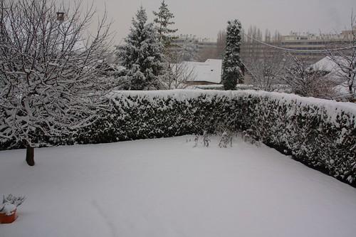 Neige à Seyssinet