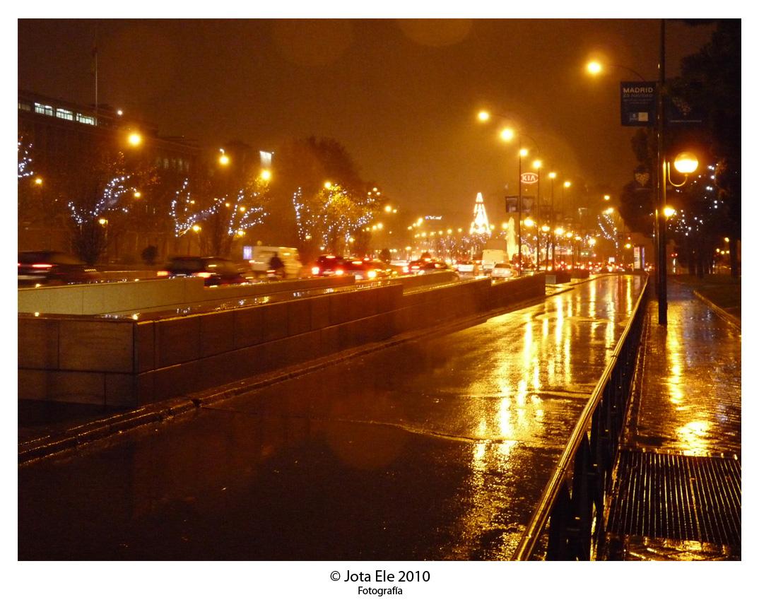 Noche, lluvia y niebla II