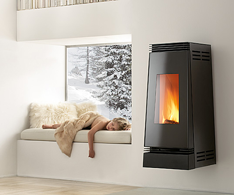 New Modern Fireplace for Winter from Montegrappa