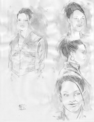 Martha Jones Doctor Who character studies on Ebay