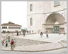 Girona, Catalunya, il sagrato de la Catedral in my view (My soul in pixel..) Tags: spain girona espana catalunya spagna gerona catalogna cataluna