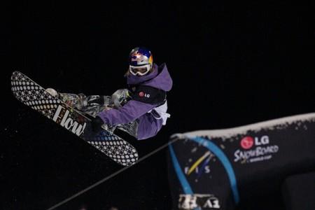 Šárka Pančochová senzačně zvítězila v závodu Světového poháru v U-rampě v Kreischbergu