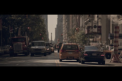 Central Park West (- Loomax -) Tags: street newyork cars truck centralpark manhattan westside cinematic frontpage warmcolors cinemascope