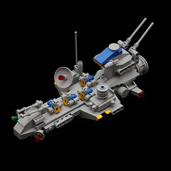 NCS Space Carrier (pasukaru76) Tags: classic lego space carrier starship moc ncs sigma105mm microscale