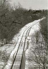 Hudson RR Tracks (For Thomas M.) (januaryman) Tags: winter snow ny rr hudson rrtrackssnow