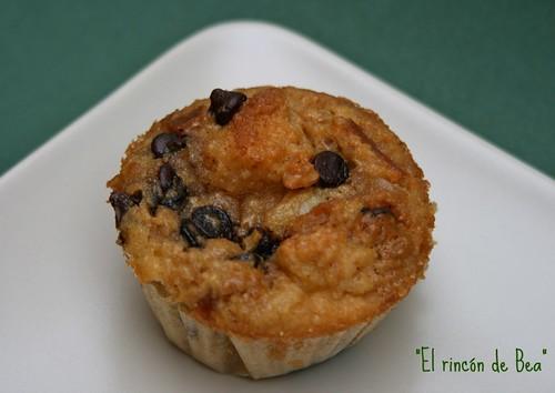 Muffin pudding de roscón