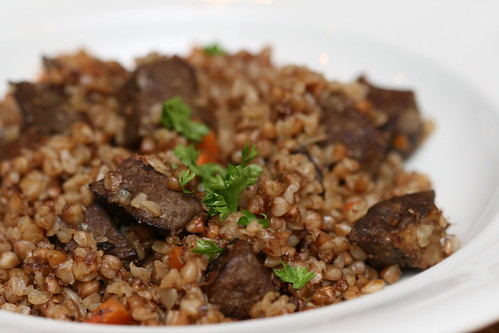Buckwheat and beef liver / Maksa-tatrahautis