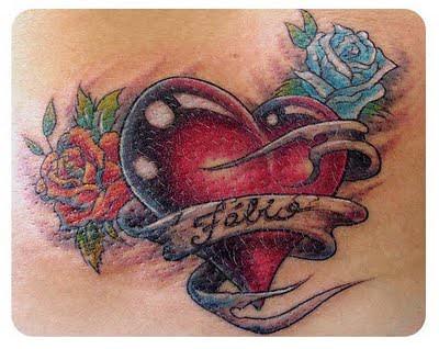 fotos de tatuagens de coração